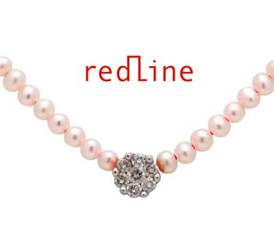 Collier Redline Diamond Pearl chez Publicis
