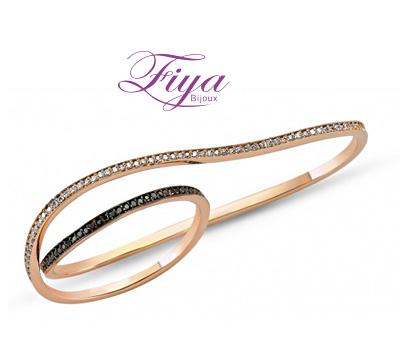 Bague 2 doigts de Fiya Bijoux