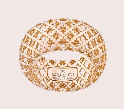 Bague Diamantissima en or rose de Gucci Joaillerie