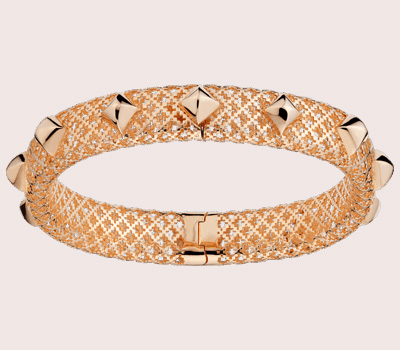 Bracelet Diamantissima en or rose de Gucci Joaillerie
