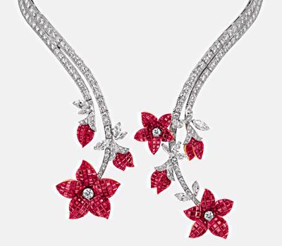 Exposition 50 ans des bijoux Van Cleef & Arpels Genève