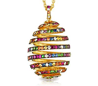 Oeuf Spirale Exubérance de Fabergé Joaillerie