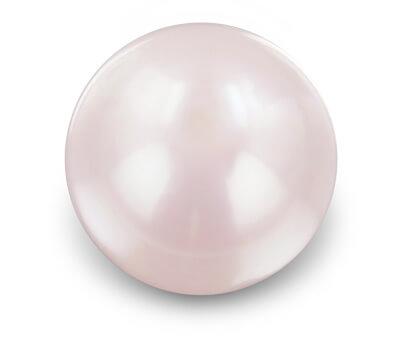 Perle rose d'une belle composition
