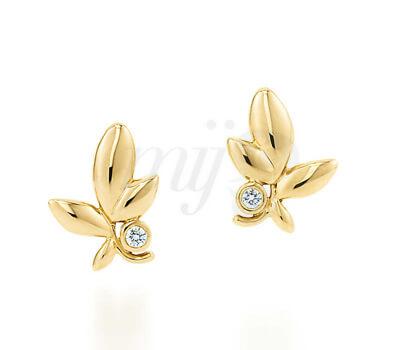Boucles d'Oreilles Feuilles d'Olivier - Tiffany&Co