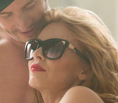 Lunettes Bulgari 2014 - Kylie Minogue Into The Blue
