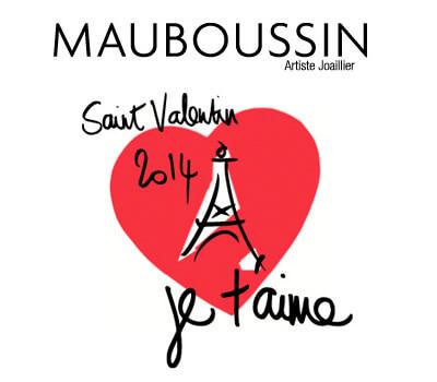 Promotion Mauboussin St Valentin 2014