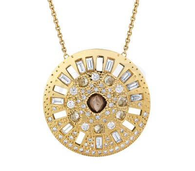 Pendentif Talisman Sublime Diamant Brut - De Beers