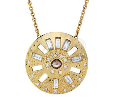 Pendentif Talisman Sublime Diamants Baguette - De Beers
