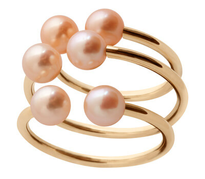 Bagues perles de Claverin joaillerie