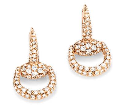 Boucles d'oreilles Horsebit de Gucci joaillerie