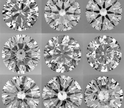 Inclusions dans le diamant