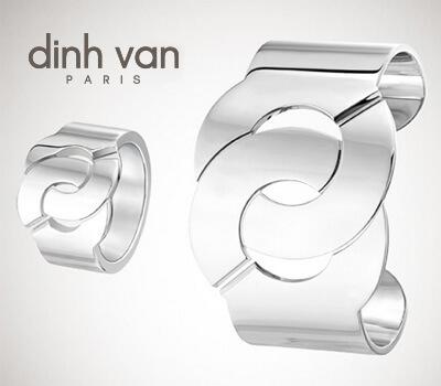Menottes en argent de Dinh Van