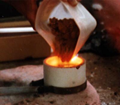 Raffinage de l'or en 24 carats