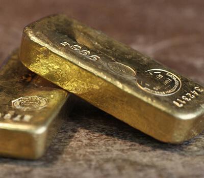 Lingots d'1 kilo d'or