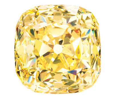 Diamant jaune célèbre de Tiffany & Co