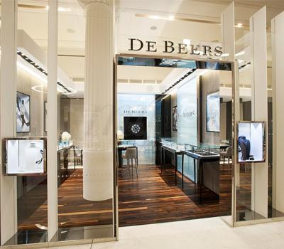 Boutique Éphémère De Beers - Selfridges Londres 2014
