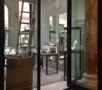 Boutique Joaillerie Peninsula Hôtel Paris