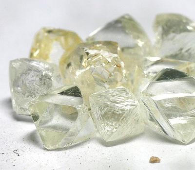 Cours du diamant brut