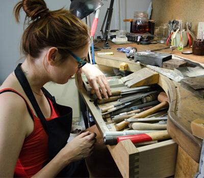 Atelier Noémie Briand Joaillerie Paris.