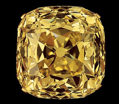 Diamant jaune de la maison Tiffany & Co
