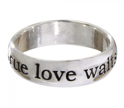 Anneau de pureté True Love Waits