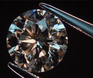 Diamant rond de taille brillant