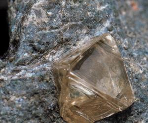 Diamant sur sa Kimberlite